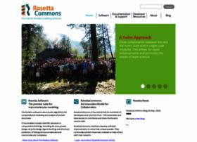 rosettacommons.org