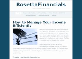 rosettafinancials.com