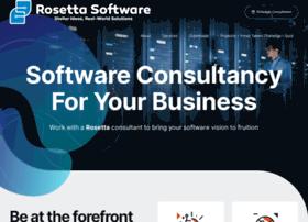 rosettasoftware.com