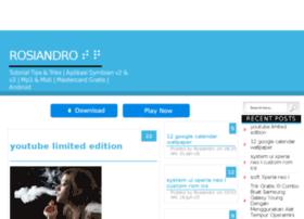 rosiandro.mywapblog.com