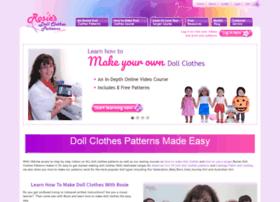rosiesdollclothespatterns.com