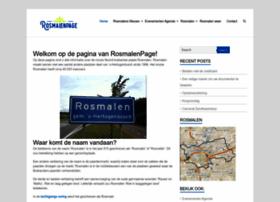rosmalenpage.nl