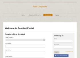 rosscorp.residentportal.com