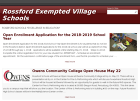 rossford.k12.oh.us