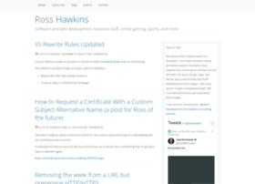 rosshawkins.net