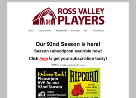 rossvalleyplayers.com
