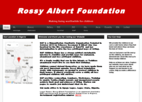 rossyalbertfoundation.org