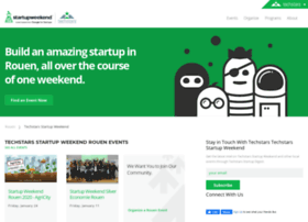 rouen.startupweekend.org