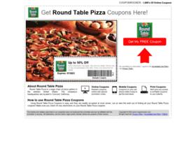 roundtablepizza.couponrocker.com