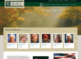 rowefuneralhomes.com