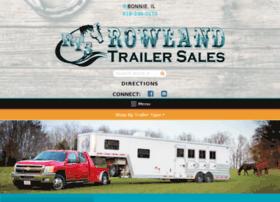 rowlandtrailersales.com