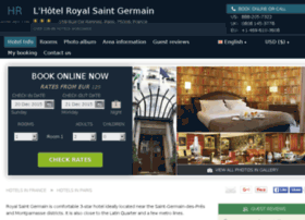 royal-st-germain.hotel-rez.com