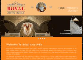 royalartsindia.com