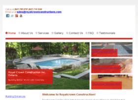 royalcrownconstructions.com