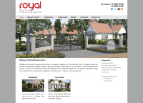 royalinfrastructure.in