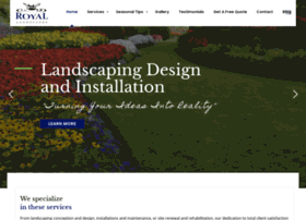 royallandscapes.net