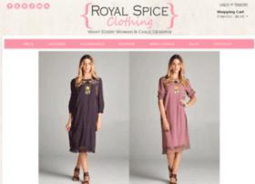 royalspiceclothing.com