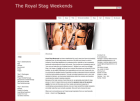royalstagweekends.co.uk
