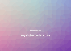 royaltobacconist.co.za