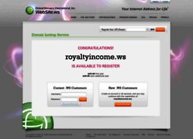 royaltyincome.ws