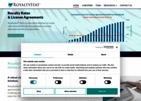 royaltystat.com
