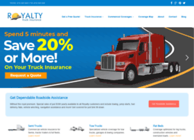 royaltytruckinsurance.com