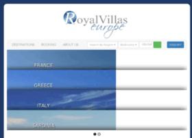 royalvillaseurope.com
