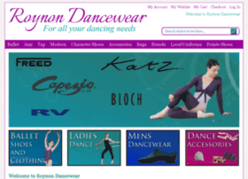 roynondancewear.co.uk
