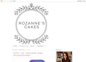 rozannescakes.com