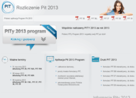 rozliczeniepit2013.net.pl