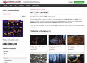 rpg.ambient-mixer.com