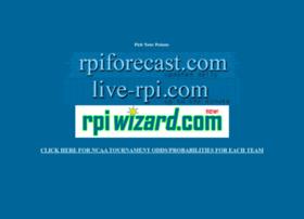 rpiforecast.com