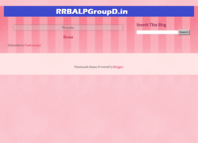 rrbalpgroupd.in