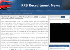 rrbrecruitmentnews.com