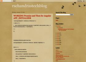 rschandrastechblog.blogspot.com