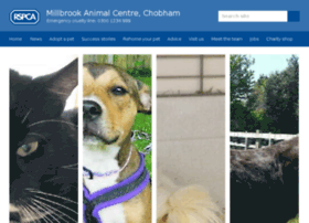 rspca-millbrook.org.uk