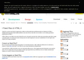 rss.html.it