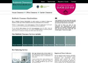 rubbishclearancehertfordshire.co.uk