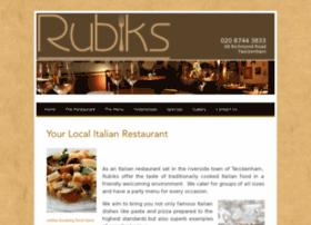 rubiks-restaurant.co.uk
