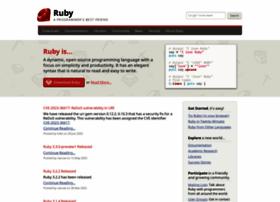 ruby-lang.org