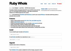 ruby-whois.com