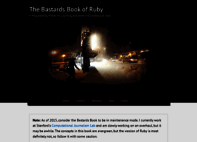 ruby.bastardsbook.com