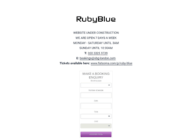 rubybluebar.co.uk