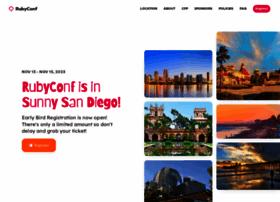 rubyconf.org