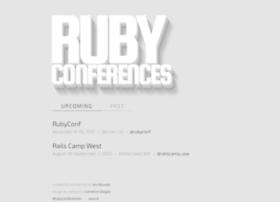 rubyconferences.org