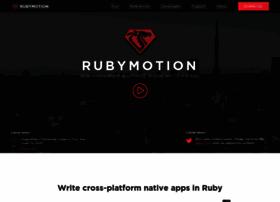 rubymotion.com