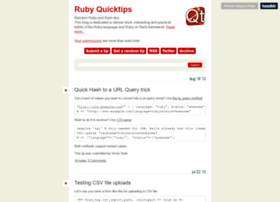 rubyquicktips.com