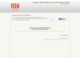 rubyreceptionists.hrmdirect.com