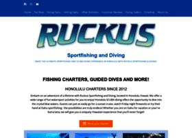 ruckusfishinganddiving.com