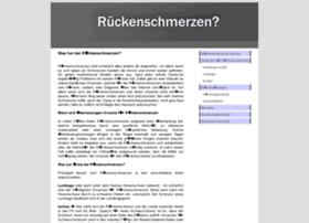 rueckenschmerzenwastun.com